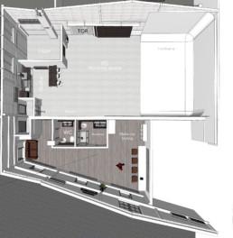 RoofOneStudio Grundriss Erdgeschoss Eventlocation Mietlocation Mietstudio Fotostudio EG.jpg